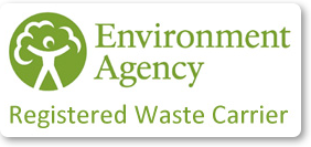 Environmental Agency - One Call Building Services is a Registered Waste Carrier
